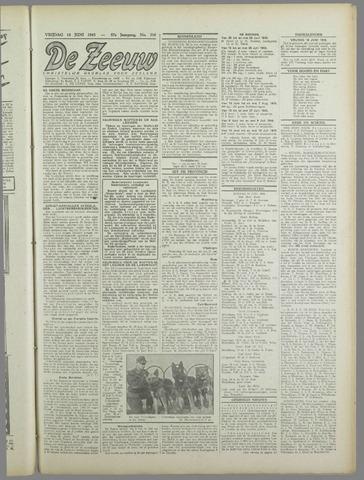 De Zeeuw. Christelijk-historisch nieuwsblad voor Zeeland 1943-06-18