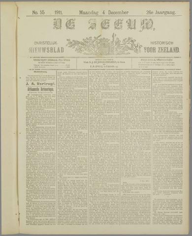 De Zeeuw. Christelijk-historisch nieuwsblad voor Zeeland 1911-12-04