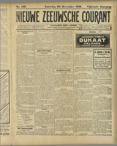 Nieuwe Zeeuwsche Courant 1919-12-20