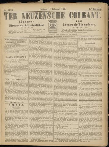 Ter Neuzensche Courant. Algemeen Nieuws- en Advertentieblad voor Zeeuwsch-Vlaanderen / Neuzensche Courant ... (idem) / (Algemeen) nieuws en advertentieblad voor Zeeuwsch-Vlaanderen 1899-02-11