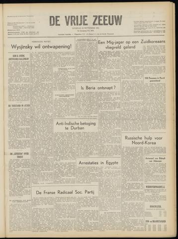 de Vrije Zeeuw 1953-09-22