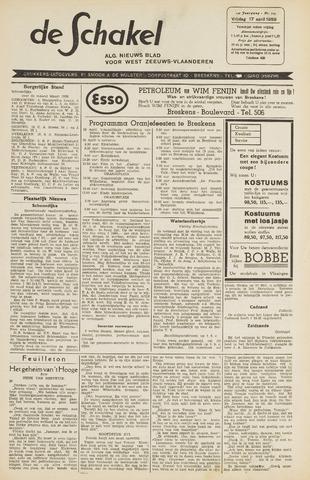 De Schakel 1959-04-17