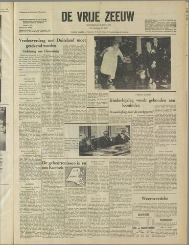 de Vrije Zeeuw 1961-06-29