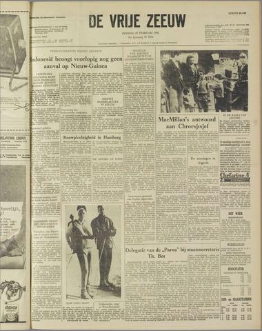 de Vrije Zeeuw 1962-02-27