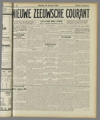 Nieuwe Zeeuwsche Courant 1912-01-30