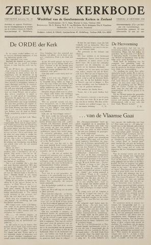 Zeeuwsche kerkbode, weekblad gewijd aan de belangen der gereformeerde kerken/ Zeeuwsch kerkblad 1959-10-30