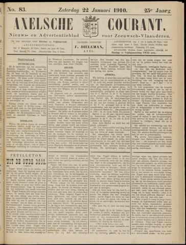 Axelsche Courant 1910-01-22