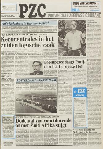 Provinciale Zeeuwse Courant 1985-08-30