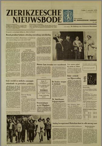 Zierikzeesche Nieuwsbode 1970-09-04