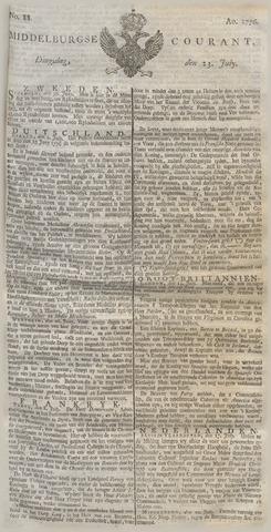 Middelburgsche Courant 1776-07-23
