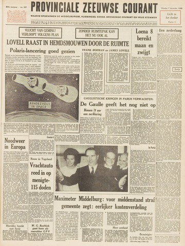 Provinciale Zeeuwse Courant 1965-12-07