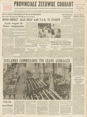 Provinciale Zeeuwse Courant 1965-02-16