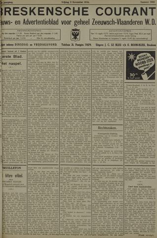 Breskensche Courant 1934-11-02