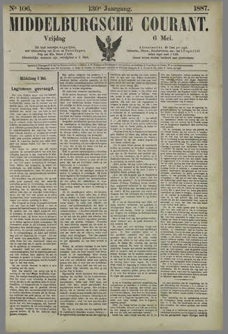 Middelburgsche Courant 1887-05-06