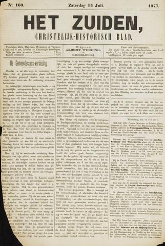 Het Zuiden, Christelijk-historisch blad 1877-07-14