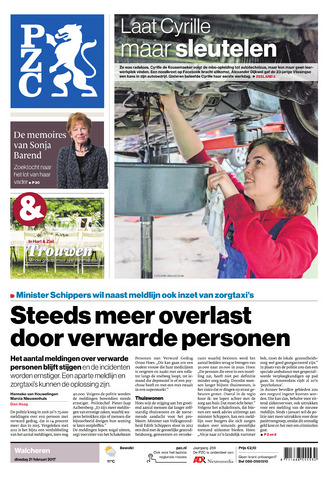 Provinciale Zeeuwse Courant 2017-02-21