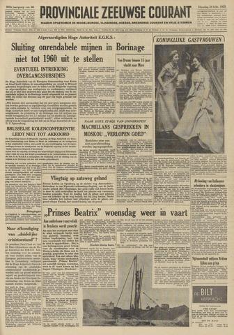 Provinciale Zeeuwse Courant 1959-02-24