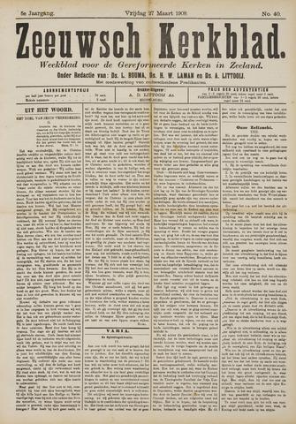 Zeeuwsche kerkbode, weekblad gewijd aan de belangen der gereformeerde kerken/ Zeeuwsch kerkblad 1908-03-27