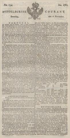 Middelburgsche Courant 1762-11-06