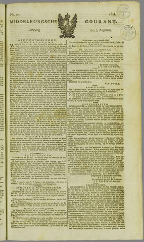 Middelburgsche Courant 1824-08-03