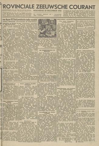 Provinciale Zeeuwse Courant 1943-12-22