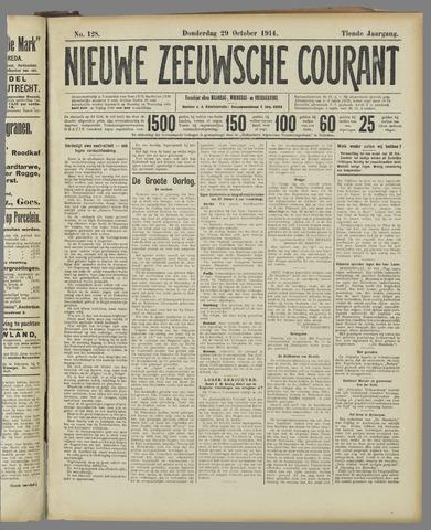 Nieuwe Zeeuwsche Courant 1914-10-29