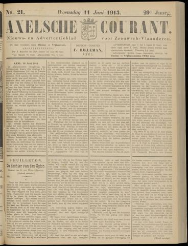 Axelsche Courant 1913-06-11