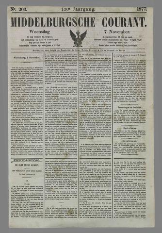 Middelburgsche Courant 1877-11-07