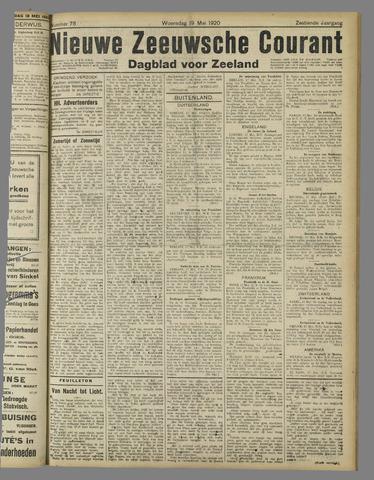 Nieuwe Zeeuwsche Courant 1920-05-19