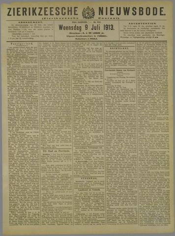 Zierikzeesche Nieuwsbode 1913-07-09