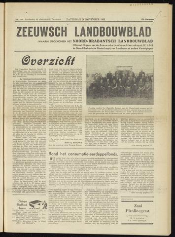 Zeeuwsch landbouwblad ... ZLM land- en tuinbouwblad 1955-11-26