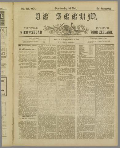 De Zeeuw. Christelijk-historisch nieuwsblad voor Zeeland 1901-05-16
