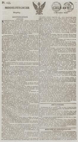 Middelburgsche Courant 1829-12-01