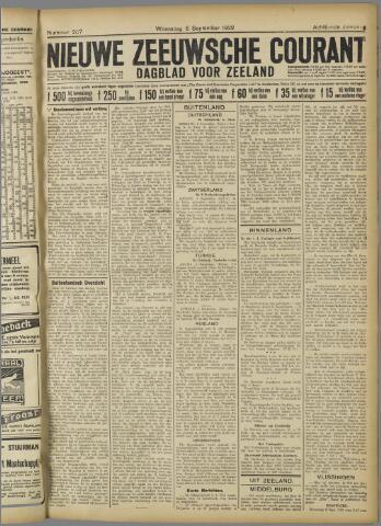 Nieuwe Zeeuwsche Courant 1922-09-06