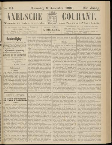 Axelsche Courant 1907-11-06