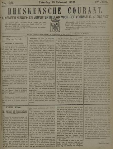 Breskensche Courant 1909-02-13