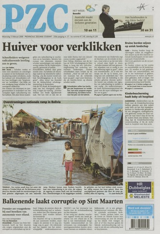 Provinciale Zeeuwse Courant 2008-02-13