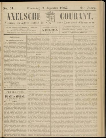 Axelsche Courant 1905-08-02