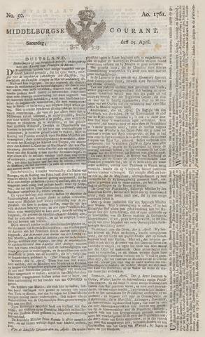 Middelburgsche Courant 1761-04-25