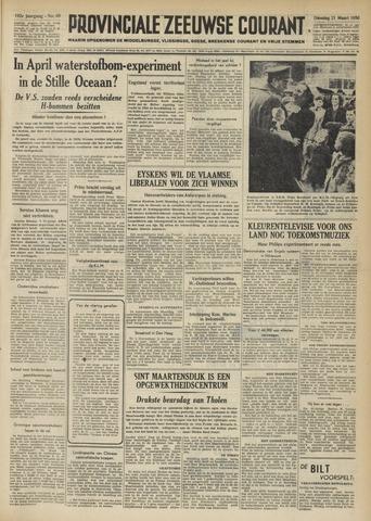 Provinciale Zeeuwse Courant 1950-03-21