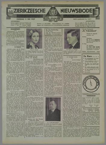Zierikzeesche Nieuwsbode 1937-05-11