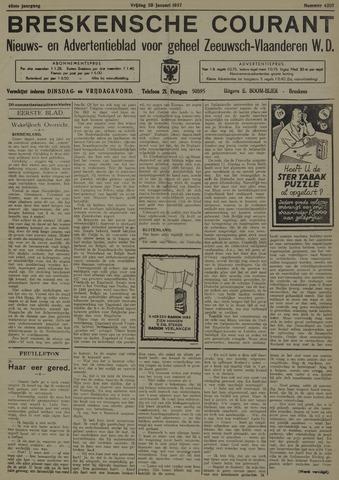 Breskensche Courant 1937-01-29