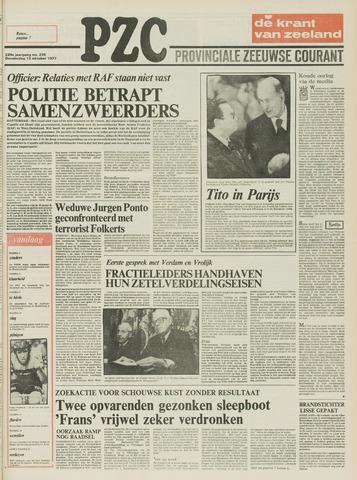 Provinciale Zeeuwse Courant 1977-10-13