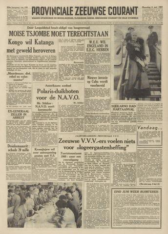 Provinciale Zeeuwse Courant 1961-05-08