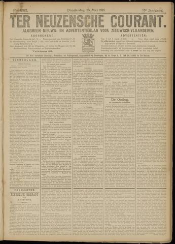 Ter Neuzensche Courant. Algemeen Nieuws- en Advertentieblad voor Zeeuwsch-Vlaanderen / Neuzensche Courant ... (idem) / (Algemeen) nieuws en advertentieblad voor Zeeuwsch-Vlaanderen 1916-05-25