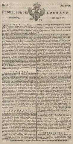 Middelburgsche Courant 1768-05-19