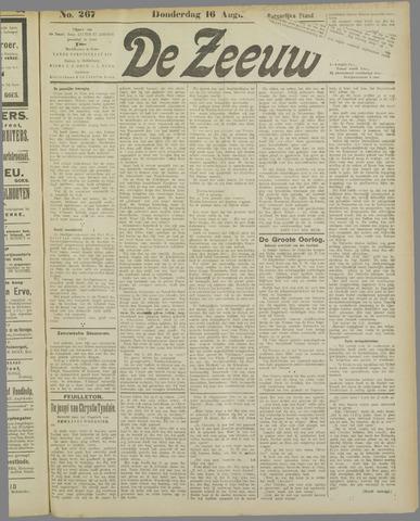 De Zeeuw. Christelijk-historisch nieuwsblad voor Zeeland 1917-08-16