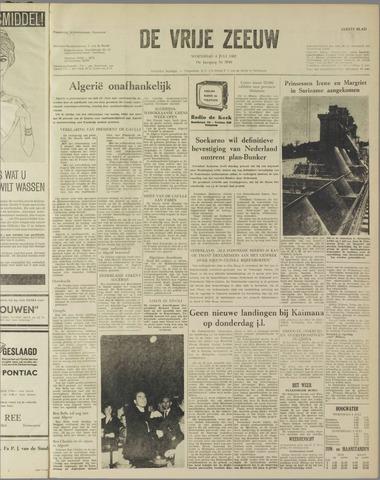 de Vrije Zeeuw 1962-07-04