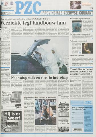 Provinciale Zeeuwse Courant 2001-03-22