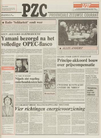 Provinciale Zeeuwse Courant 1983-01-25